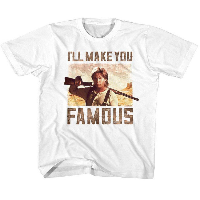 Young Guns Famous White Youth T-Shirt
