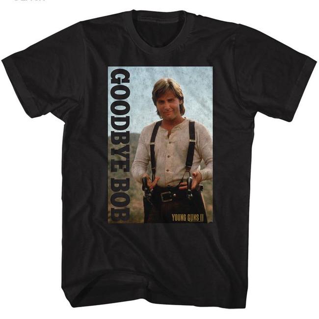 Young Guns Goodbye Bob! Black Adult T-Shirt