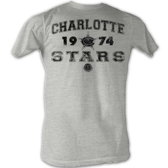 World Football League WFL C Stars Gray Heather Adult T-Shirt