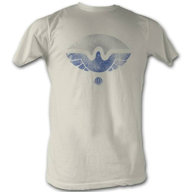 World Football League WFL Just Wings Natural Adult T-Shirt
