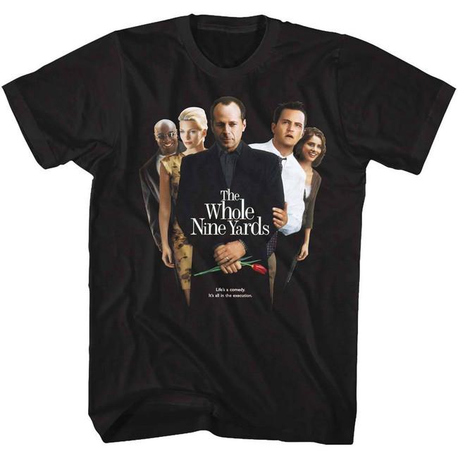 Whole Nine Yards Poster Black Adult T-Shirt