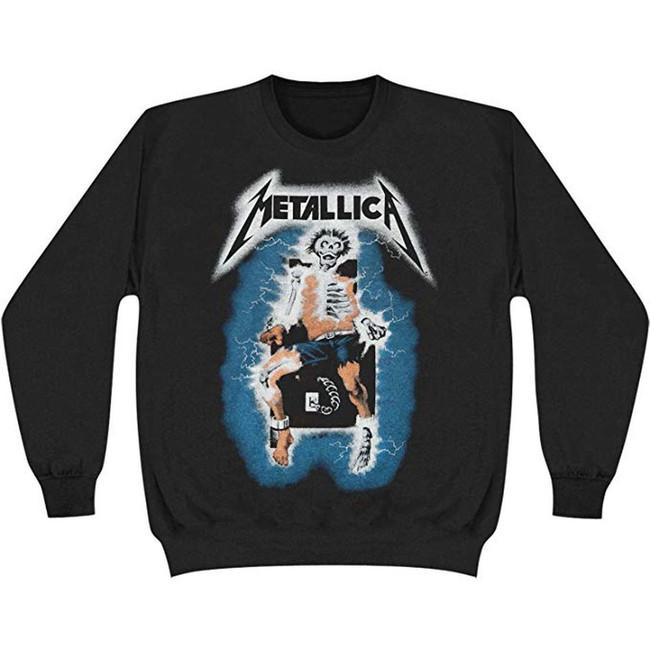 Metallica Electric Chair Crewneck Sweatshirt