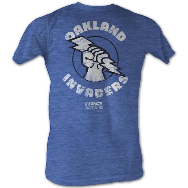United States Football League USFL Oakland Royal Heather Adult T-Shirt