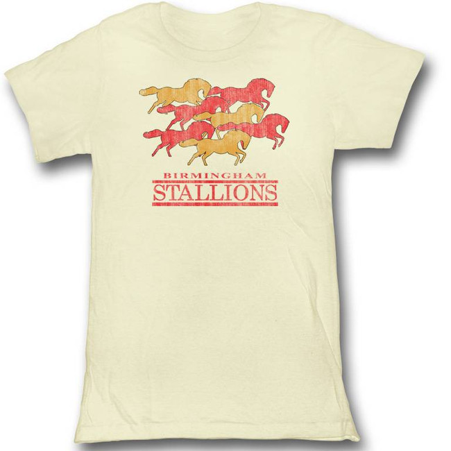 United States Football League USFL Herd Mentality Natural Junior Women's T-Shirt
