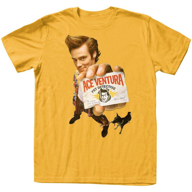 Ace Ventura Ginger Adult T-Shirt