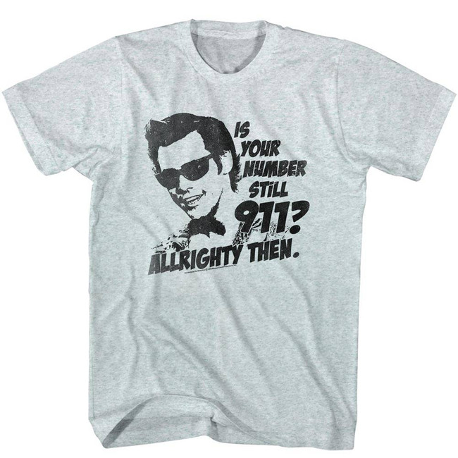 Ace Ventura 911 Heather Adult T-Shirt