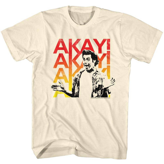Ace Ventura Akayakay Natural Adult T-Shirt