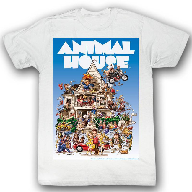 Animal House Big Momma's House White Adult T-Shirt
