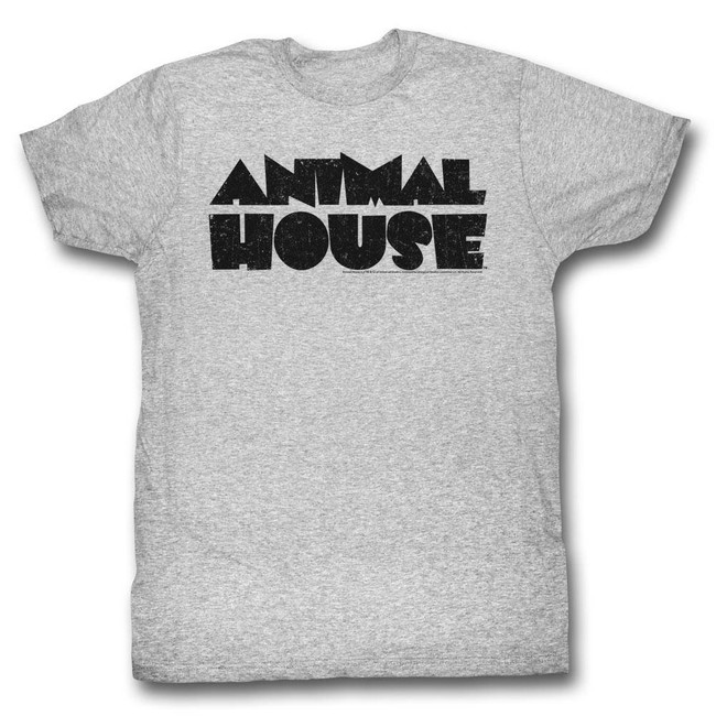 Animal House Logo Heather Adult T-Shirt