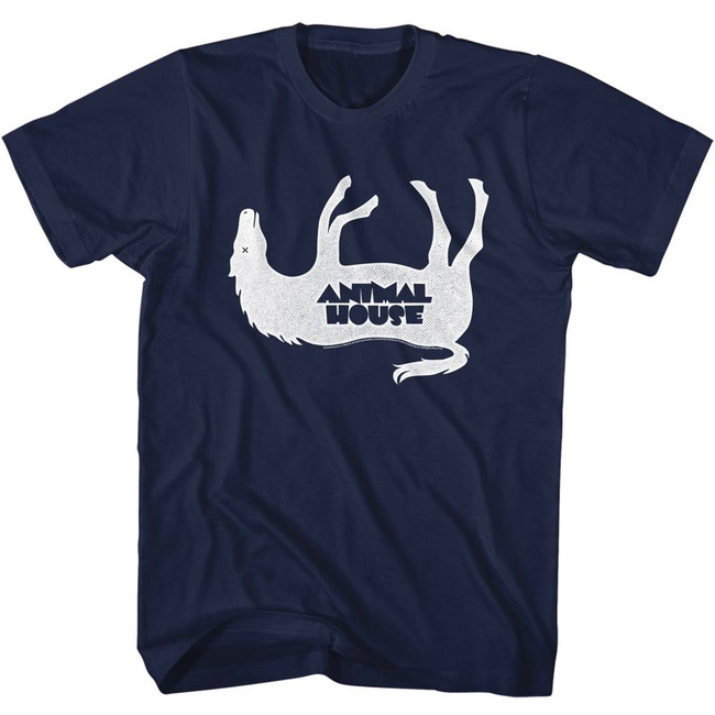 Animal House Horsey Navy Adult T-Shirt