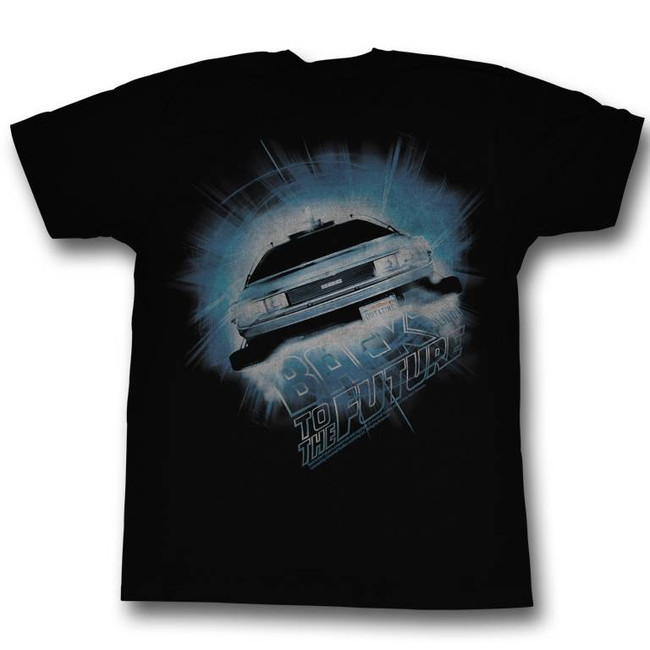 Back to the Future Daba Dee Dabu Die Black Heather Adult T-Shirt