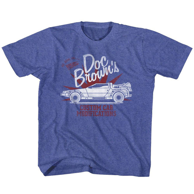 Back to the Future Doc Brown's Vintage Royal Youth T-Shirt