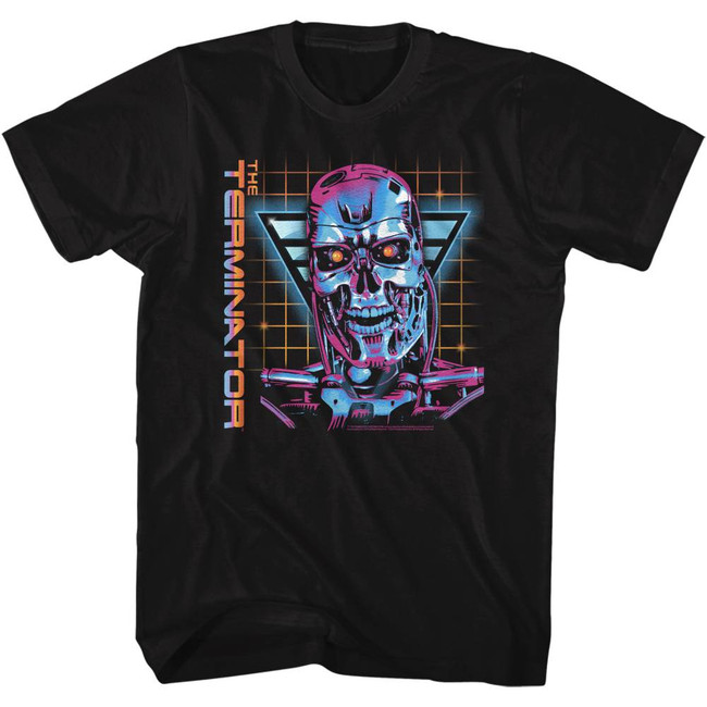 Terminator So Very 80's Black Adult T-Shirt