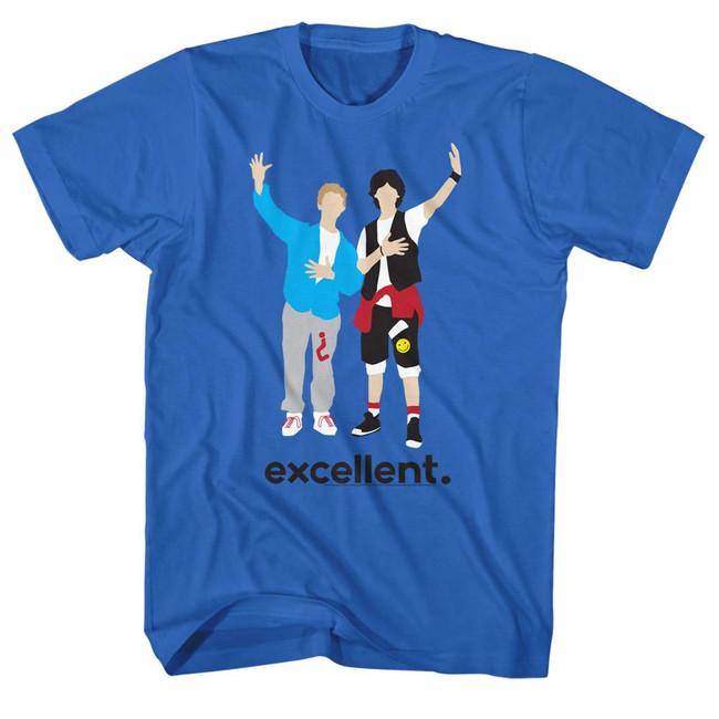 Bill and Ted Minimal Royal Adult T-Shirt