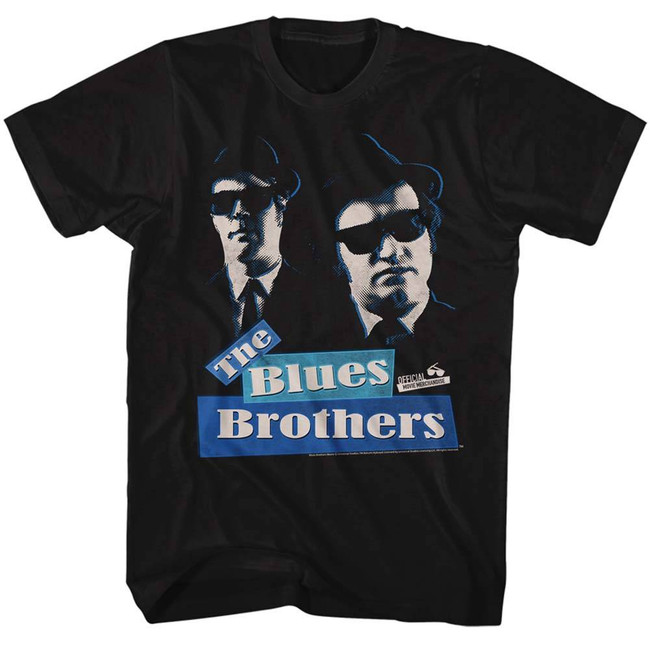 Blues Brothers Black Adult T-Shirt