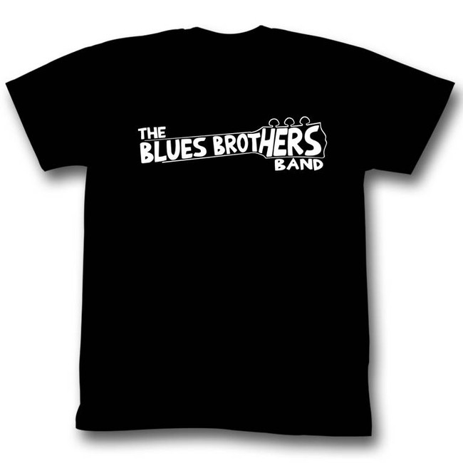 Blues Brothers Band Black Adult T-Shirt