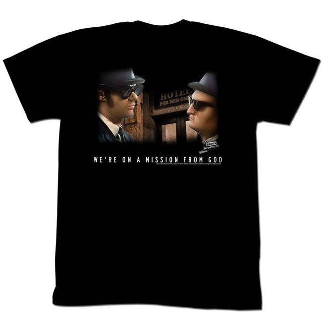 Blues Brothers Another Mission Black Adult T-Shirt