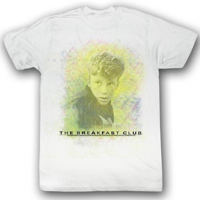 Breakfast Club Brian White Adult T-Shirt