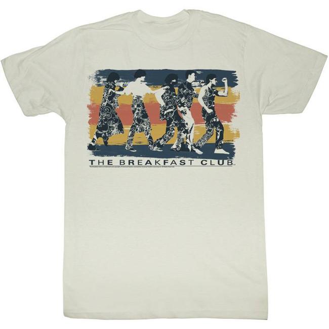 Breakfast Club Dance Away Natural Adult T-Shirt