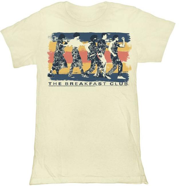 Breakfast Club Dance Away Natural Junior Women's T-Shirt