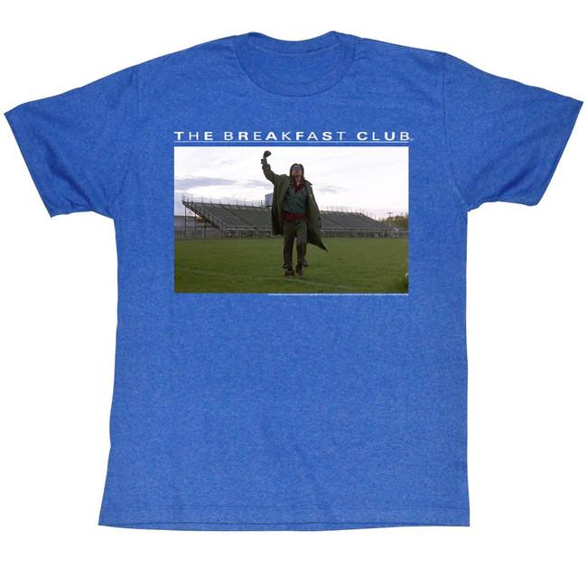 Breakfast Club Football Fields Royal Heather Adult T-Shirt