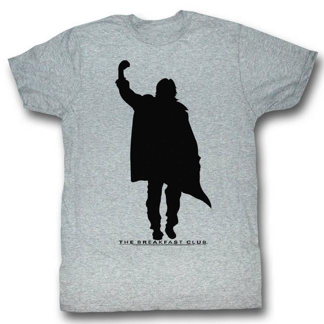 Breakfast Club Fist Pump Gray Adult T-Shirt