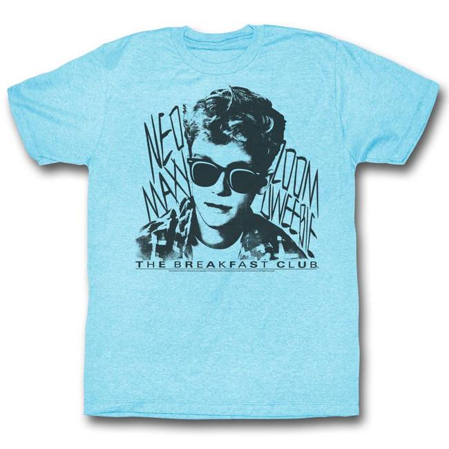 Breakfast Club Dweebie Light Blue Heather Adult T-Shirt