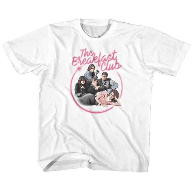 Breakfast Club Airbrush White Children's T-Shirt