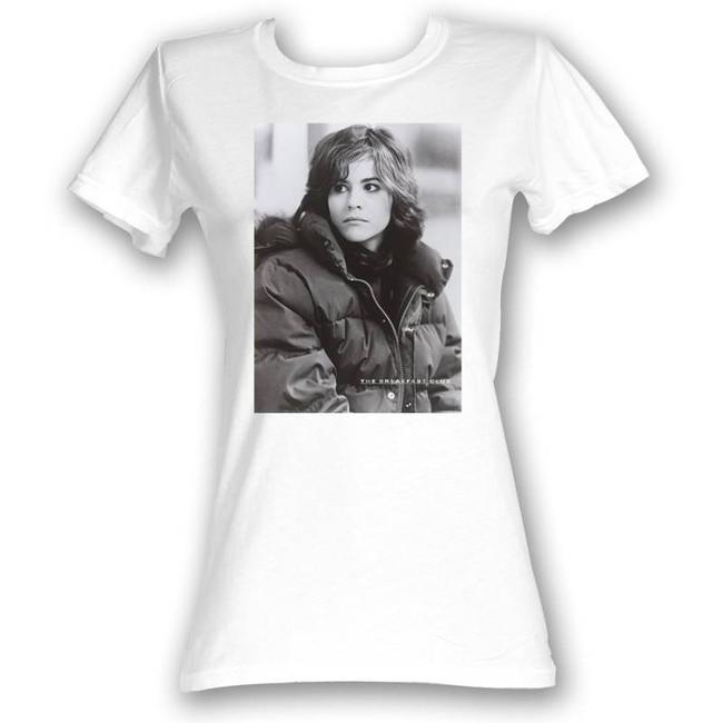 Breakfast Club Allison White Junior Women's T-Shirt