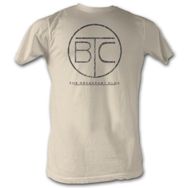 Breakfast Club Circle Logo Natural Adult T-Shirt