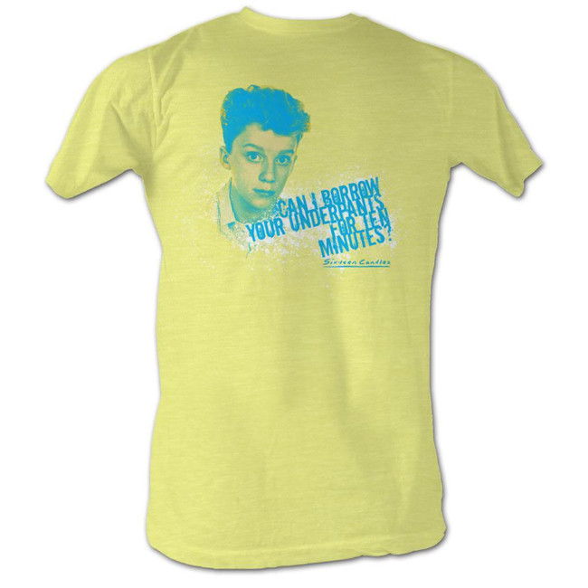 Sixteen Candles Can I Borrow Yellow Heather Adult T-Shirt