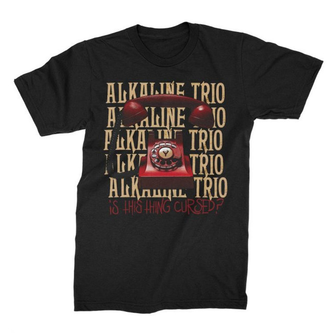 Alkaline Trio Is This Thing Cursed T-Shirt