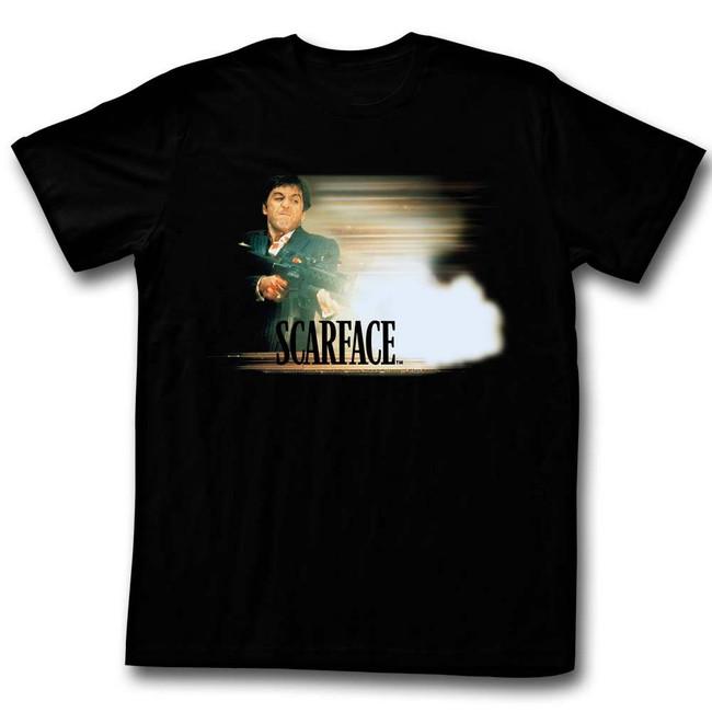 Scarface Glowy Dude Black T-Shirt