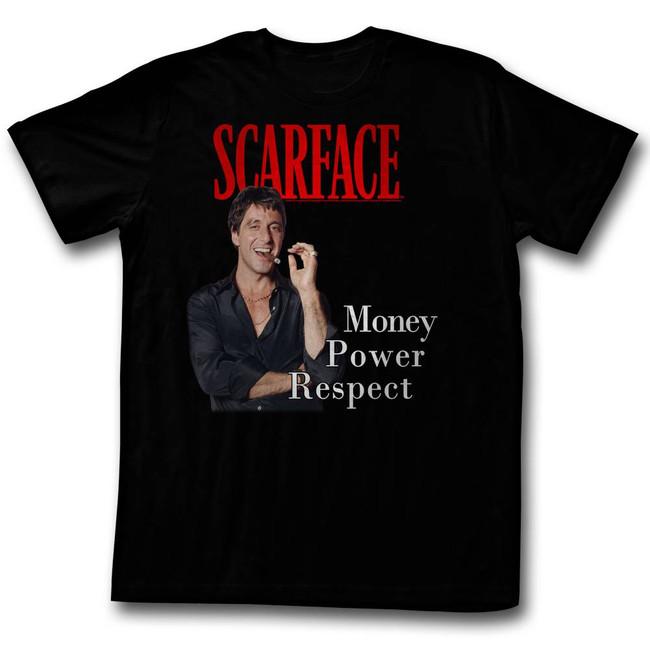 Scarface M.P.R. Black T-Shirt