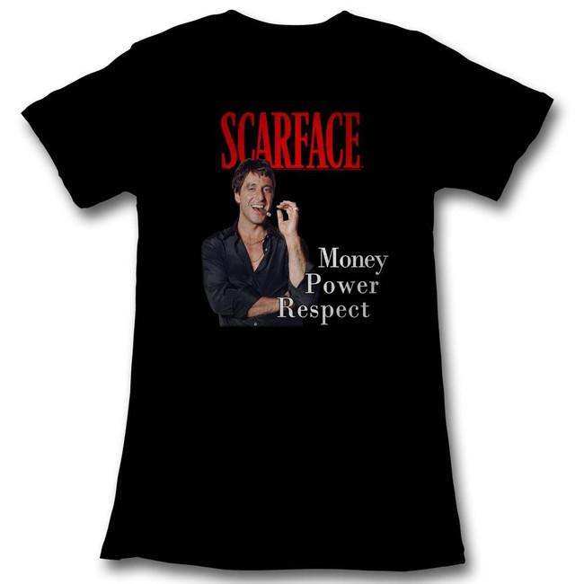 Scarface Mpr Black Junior Women's T-Shirt