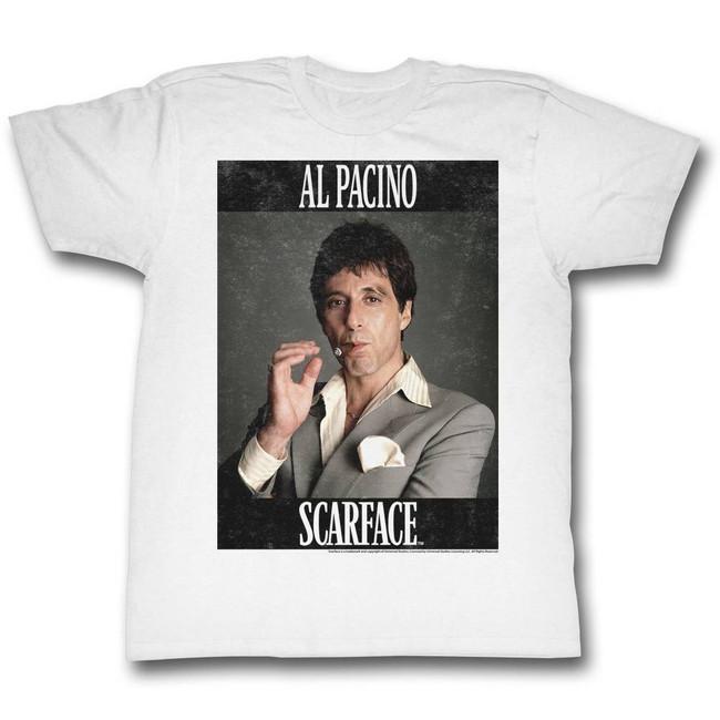 Scarface Pacino White T-Shirt
