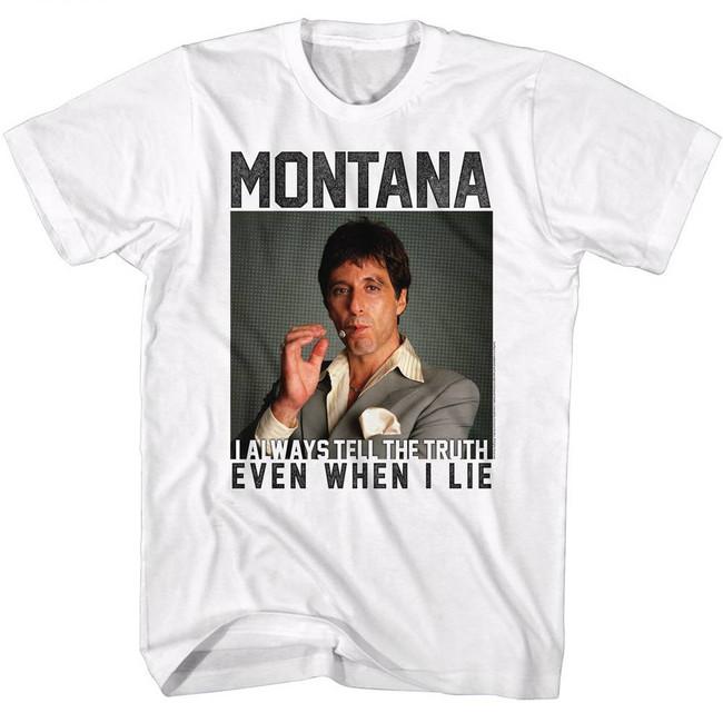 Scarface Montana White T-Shirt
