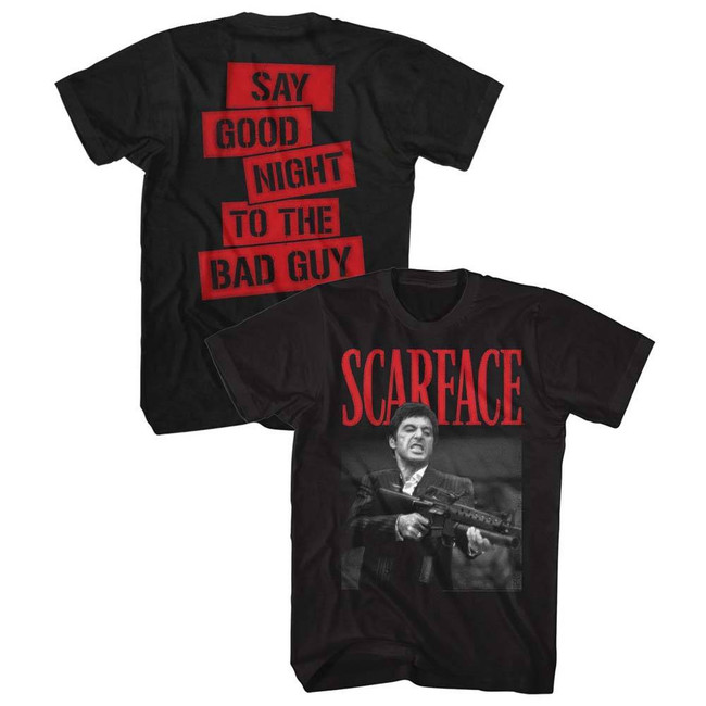 Scarface Dakkadakka Black T-Shirt