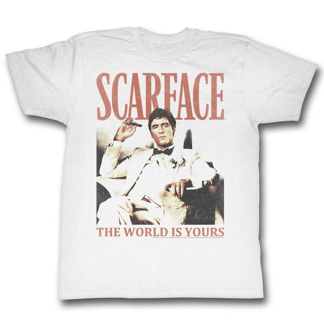 Scarface Da World White T-Shirt