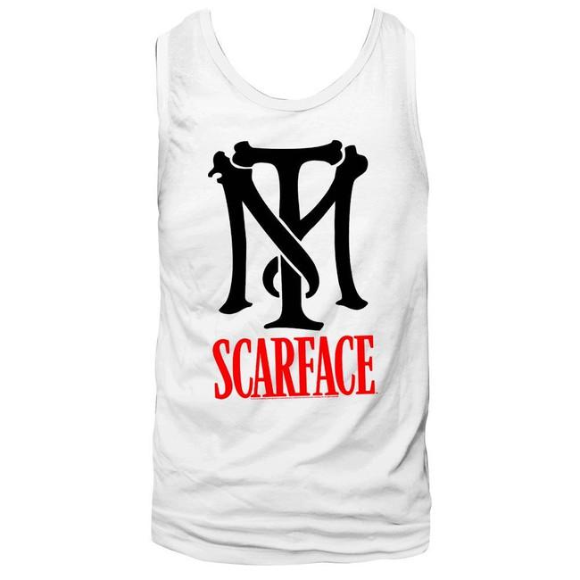 Scarface Tm Logo White Tank Top