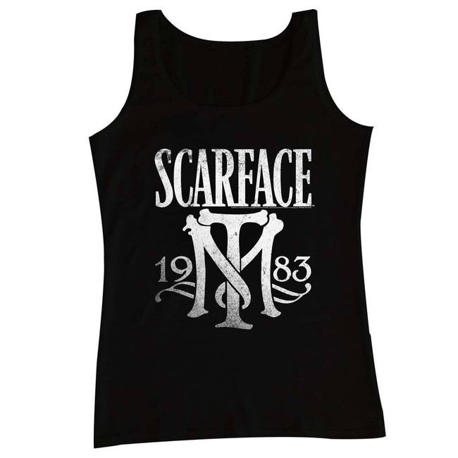 Scarface Symbol Black Tank Top