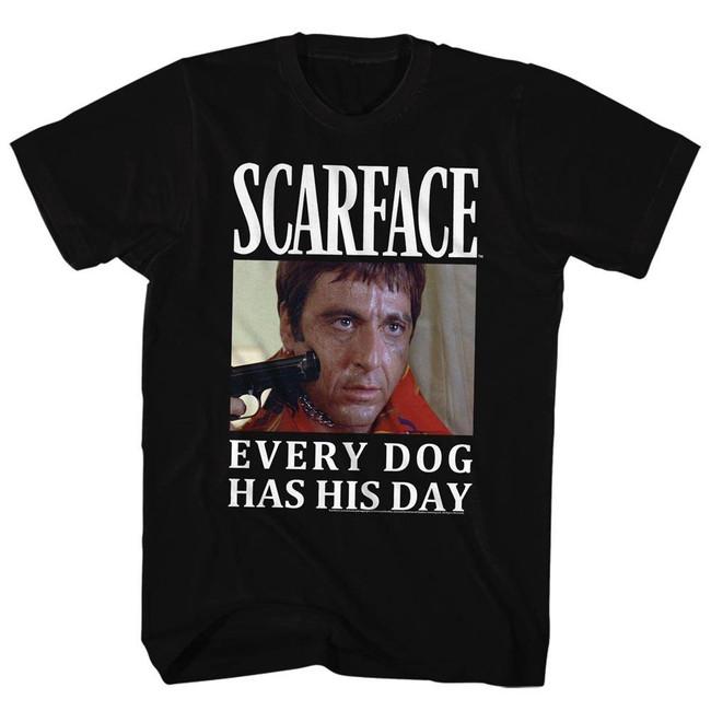 Scarface Doge Black T-Shirt