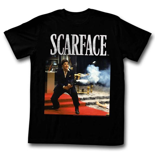 Scarface Hello Friend Black T-Shirt