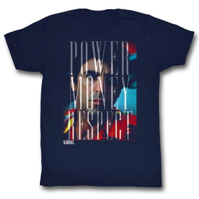 Scarface Pmr Navy T-Shirt