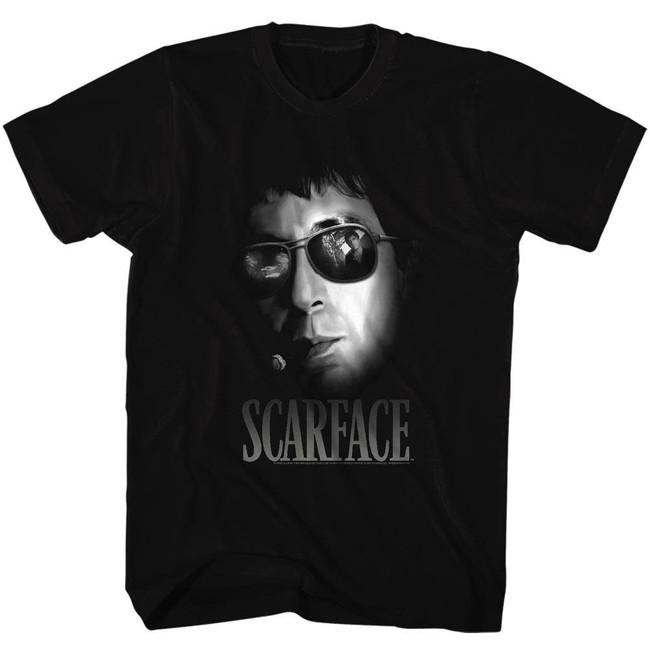 Scarface Aviators Black T-Shirt