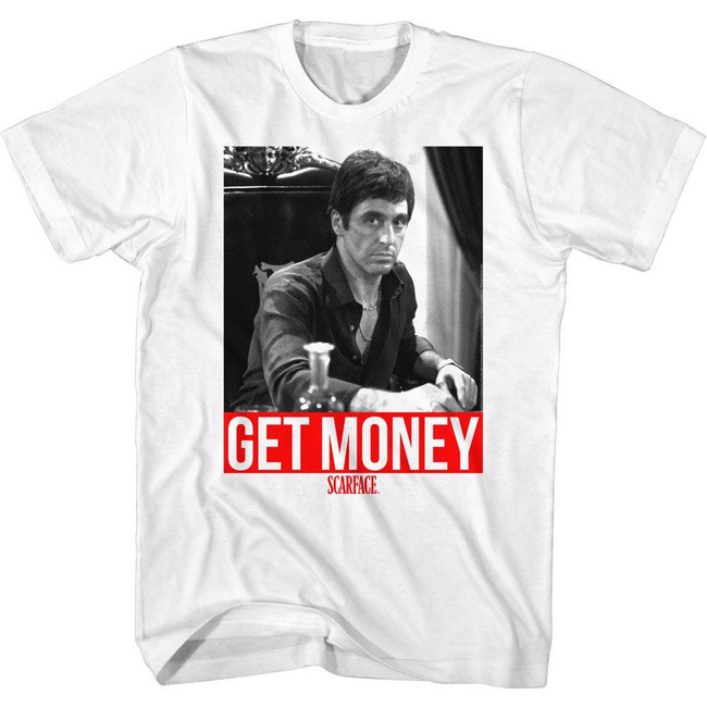 Scarface Get It White T-Shirt