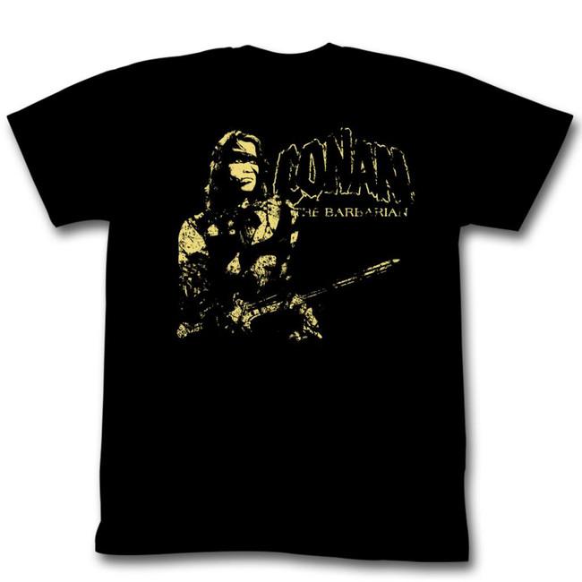 Conan The Barbarian The Man Black Adult T-Shirt