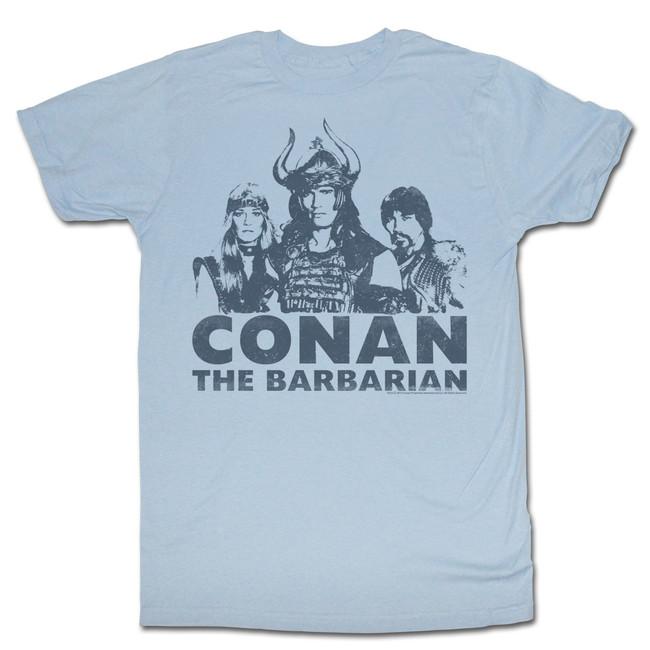 Conan The Barbarian Light Blue Adult T-Shirt