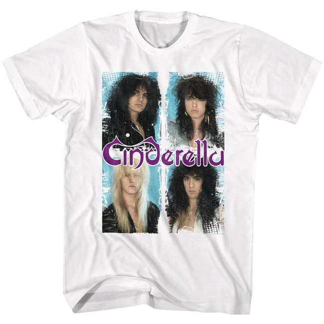 Cinderella Boxed In White Adult T-Shirt
