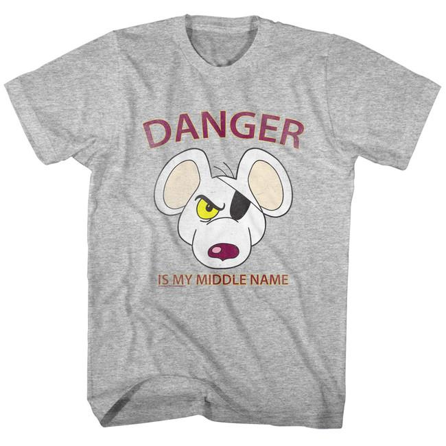 Danger Mouse Street Danger Gray Heather Toddler T-Shirt